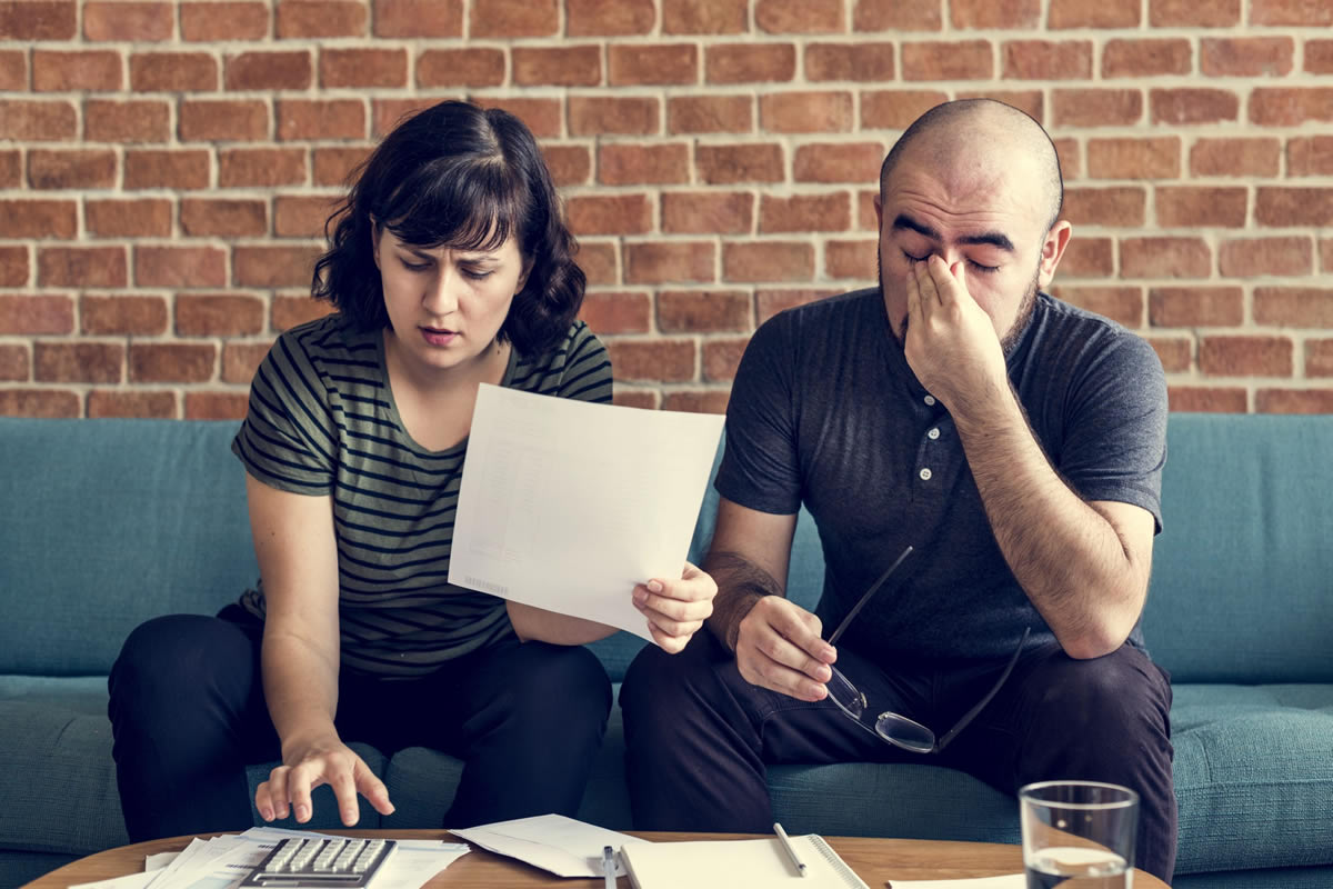 Five Steps to Cope with Financial Stress